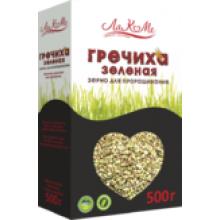 Зерно для проращивания Гречиха зеленая 500г