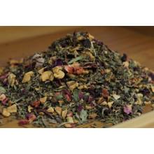 Чай фруктовый Клубника Мята 100г