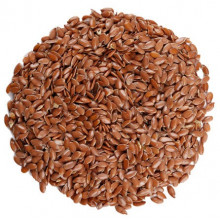 Семена льна тёмного 350г