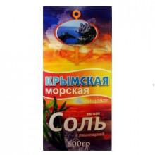 Соль морская Крымская с ламинарией 800г
