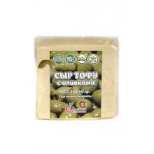Замороженный тофу с оливками 250г